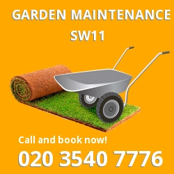Battersea garden maintenance SW11