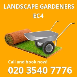 EC4 landscape gardeners Blackfriars
