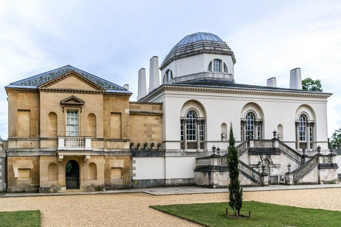 Outside Chiswick House