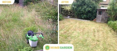 E8 lawn mowing Haggerston