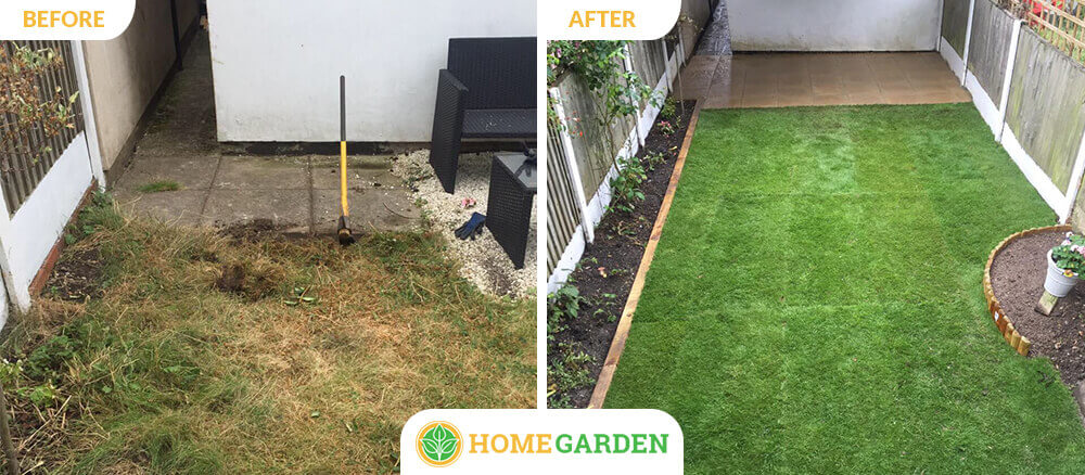 E14 garden landscapers Canary Wharf