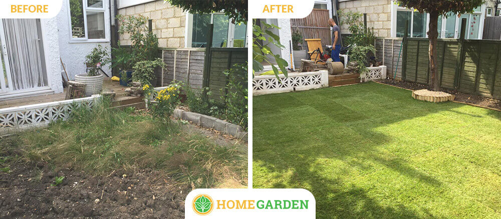 SW4 garden landscapers Clapham Common