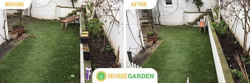 BR3 garden landscapers Elmers End