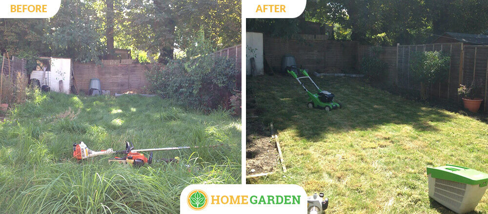 NW5 garden landscapers Gospel Oak