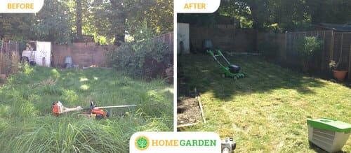 E10 gardening Leyton