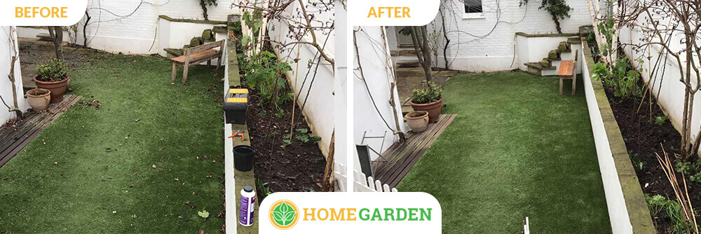 E16 garden landscapers North Woolwich
