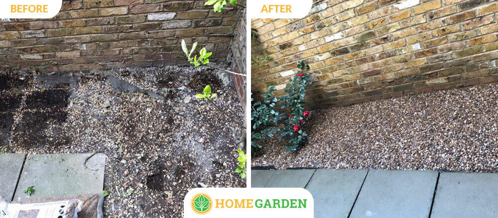 E18 garden landscapers Woodford