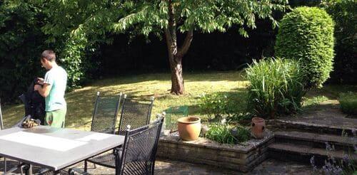 E8 maintaining lawns Haggerston