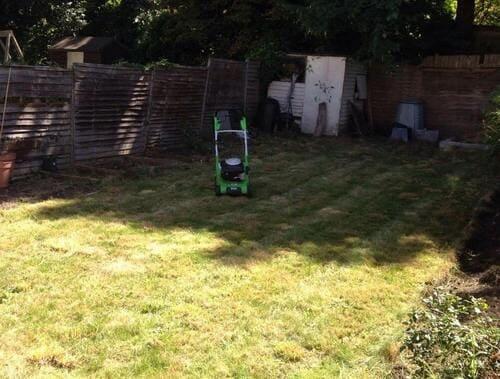 E2 garden tidy ups