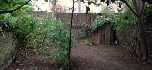 Enfield Highway garden cutting EN3