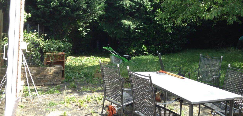 Gospel Oak garden design service NW5