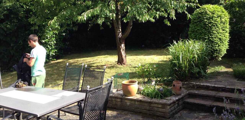 Kennington garden cutting SE11